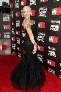 Amber Rose at the VH1 Movie Awards (Photo Credit: Getty Images)